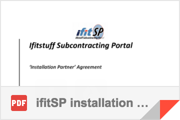 ifitSP installation business application form pack