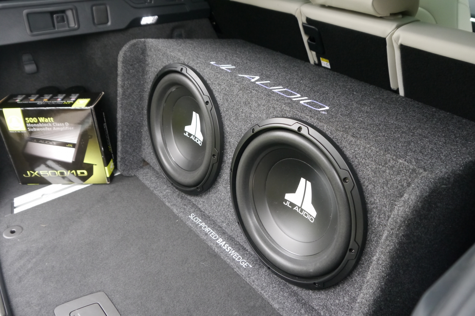 Gallery 2016 Jaguar F Pace Jl Audio Subwoofer Amplifier