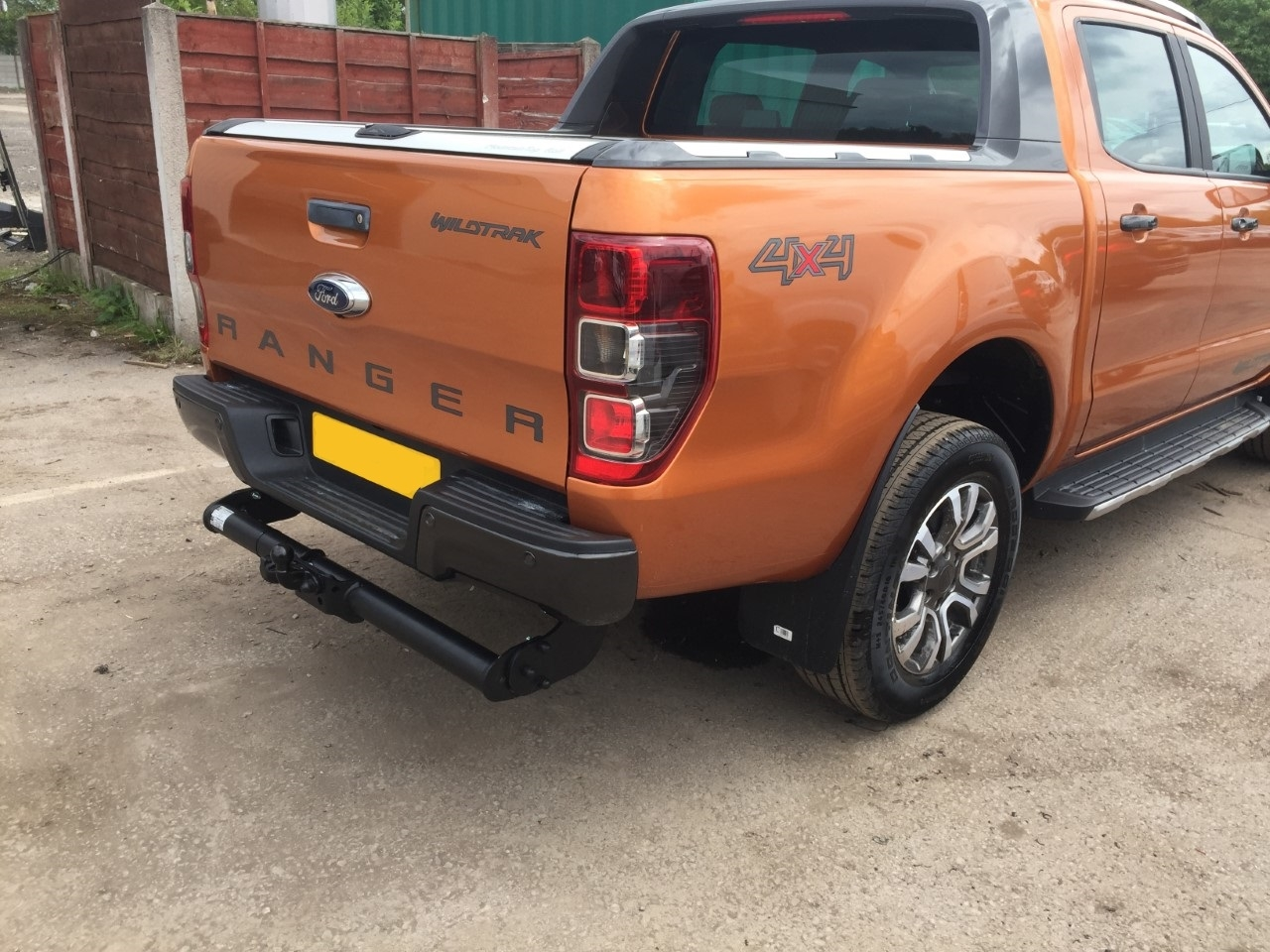 Gallery 2017 Ford Ranger Fixed Towbar 7 Pin Vehicle Specific Wiring Greater Manchester