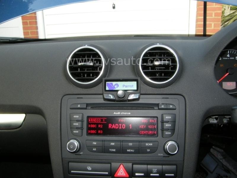 Gallery Audi A3 2007 Parrot Ck3100 Bluetooth Handsfree Carkit