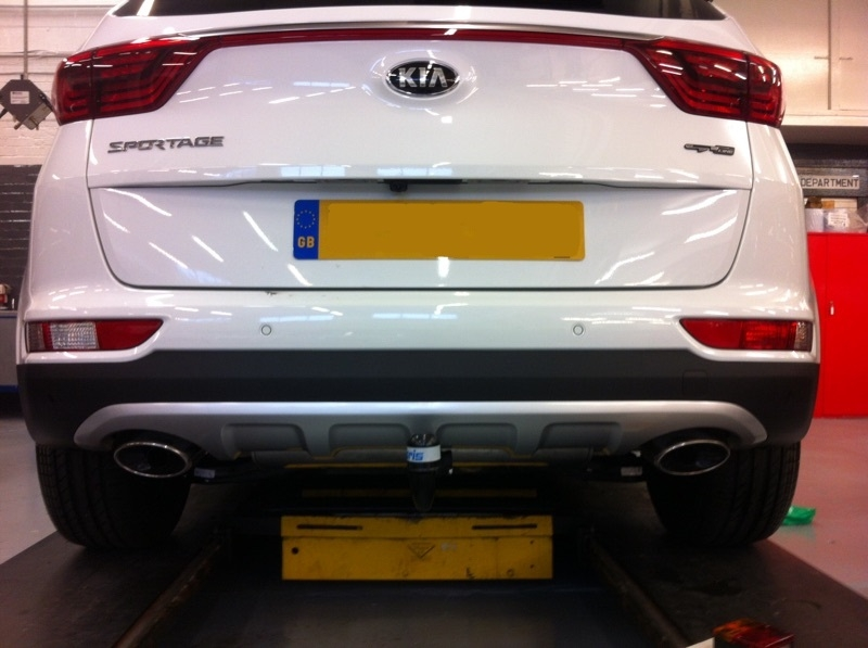 Gallery  2016 Kia Sportage Detachable Towbar With 13 Pin