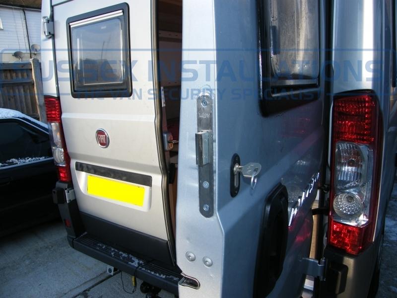Gallery - Fiat Ducato Motorhome Deadlocks Installation - Sussex