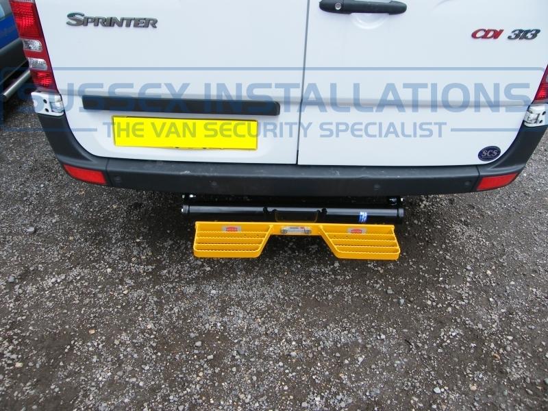 Gallery mercedes sprinter with parking sensors step for Mercedes benz installing parking sensors aftermarket