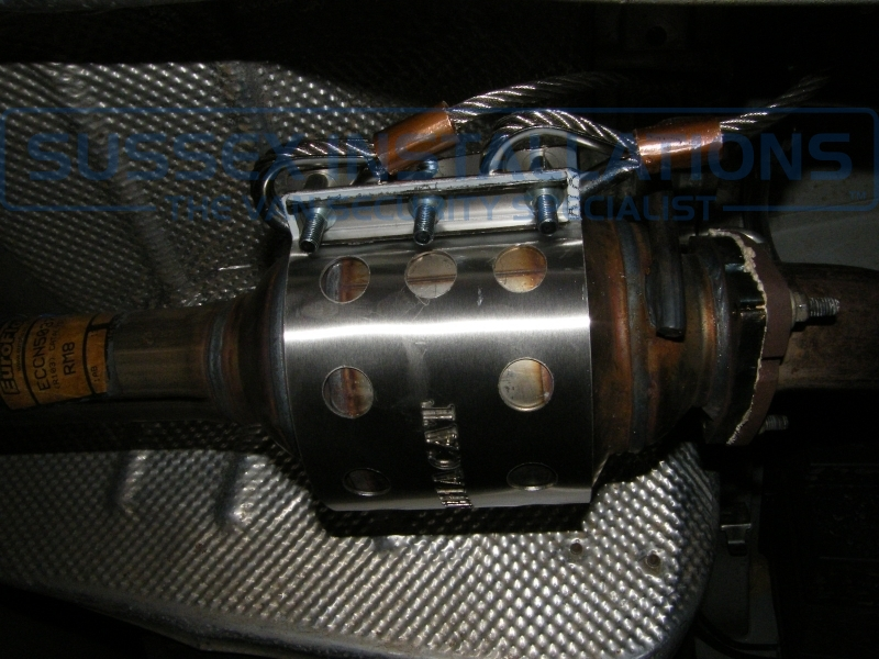 Gallery - Fiat Ducato ArmaCat - Catalytic Converter Protector
