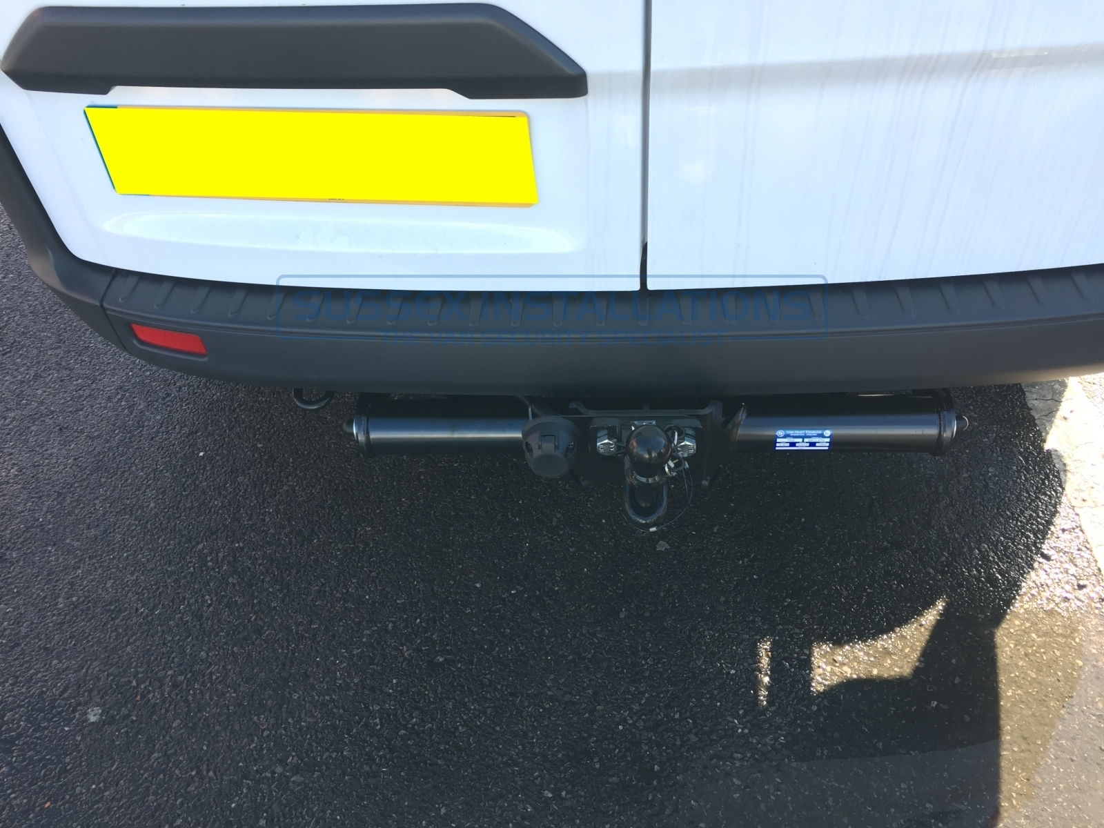 Gallery Ford Custom 2017 Towbar With Dedicated Electrics Fitting Tow Bar Transit 2013 On 01