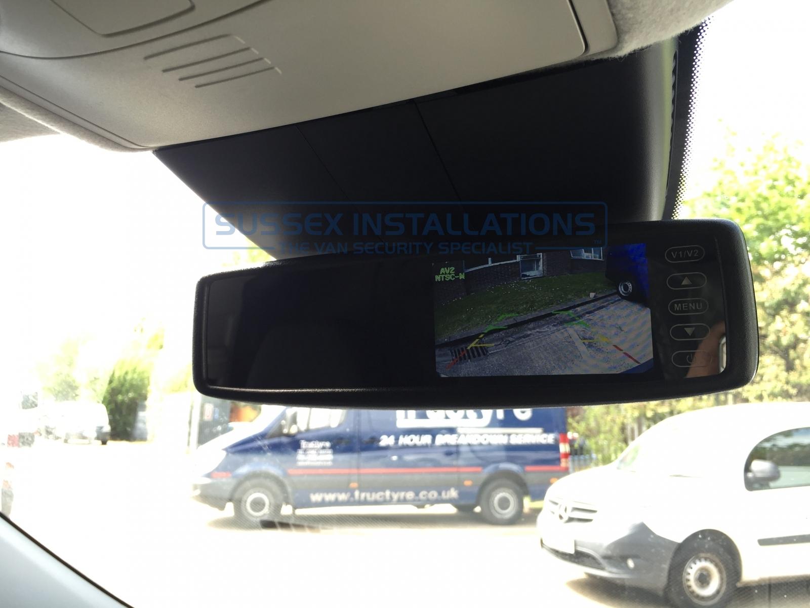 Gallery Mercedes Vito 2016 Reversing Camera Installation Backup Wiring Instructions Viano W447 2015 On