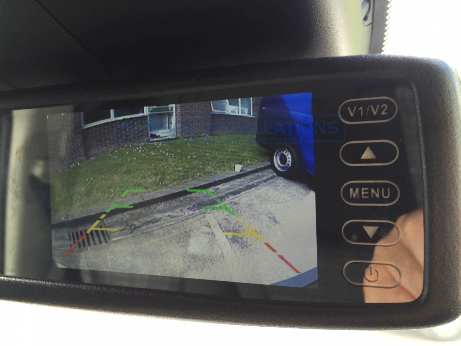 Gallery - Mercedes Vito 2016 - Reversing Camera Installation