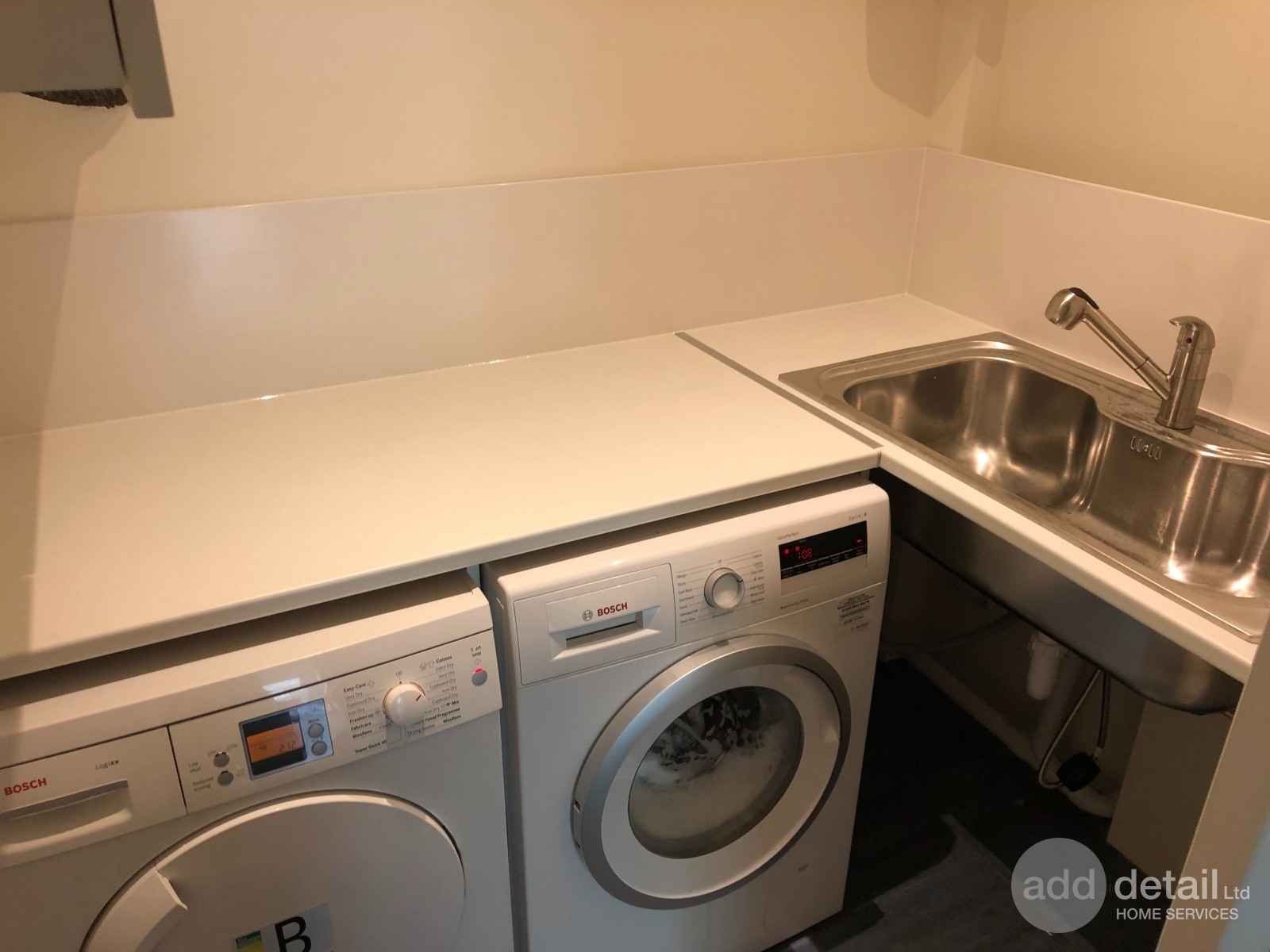 Utility room refurbishment in Muswell Hill, London. - Central London - London