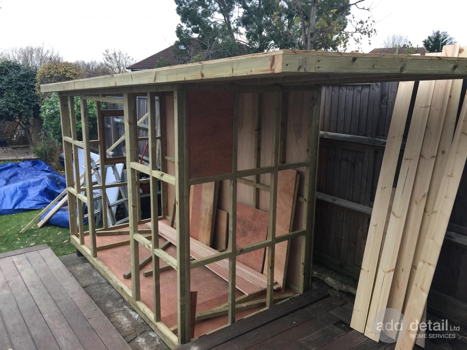 Gallery bespoke garden shed north london london for Bespoke garden sheds