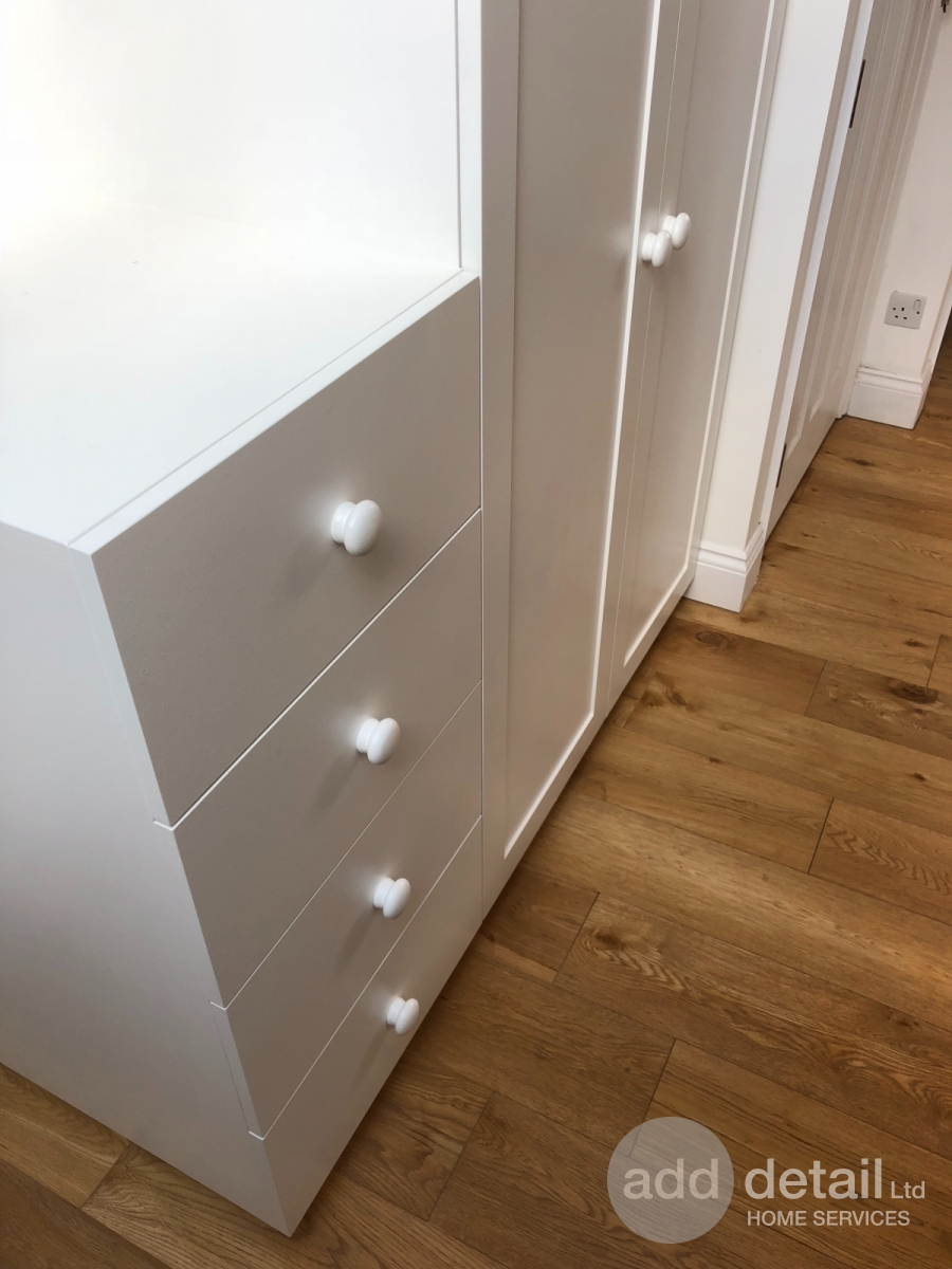 Bedroom wardrobe and drawer unit in Bounds Green, London. - Central London - London