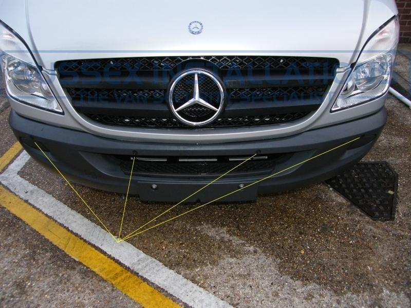 Gallery Mercedes Sprinter 2013 Steelmate Front Parking