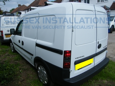 Vauxhall Combo 2010 - S Series Deadlocks Load Area Install - Locks 4 Vans S SERIES VAN DEADLOCKS GENERAL - Online Shop & Worldwide Delivery - Sussex - London & The South East