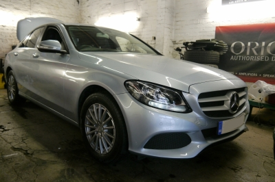 Mercedes - C-Class - Window Tinting - MANCHESTER - GREATER MANCHESTER