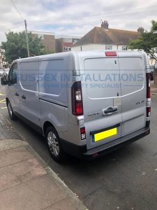 Renault Trafic 2018 - 6 Deadlocks and External Shield - Sussex Installations REN5-LATCH-SHIELD TRAFIC - Online Shop & Worldwide Delivery - Sussex - London & The South East