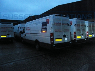 Iveco - Daily (null/200) - Iveco Daily Courier Fleet Installation of T Series Slamlocks - Online Shop & Worldwide Delivery - Sussex - London & The South East