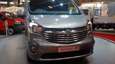New Model Vauxhall Vivaro 2014 Front - New Model Fords and Vauxhall Van Pictures from CV 2014 - Online Shop & Worldwide Delivery - Sussex - London & The South East