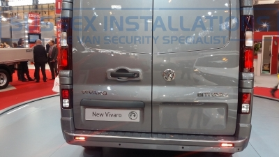 New Model Vauxhall Vivaro 2014 Rear BITURBO - New Model Fords and Vauxhall Van Pictures from CV 2014 - Online Shop & Worldwide Delivery - Sussex - London & The South East