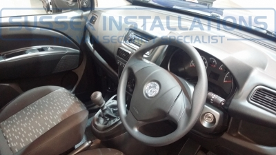 New Model Vauxhall Combo 2014 Inside and Steering Wheel - New Model Fords and Vauxhall Van Pictures from CV 2014 - Online Shop & Worldwide Delivery - Sussex - London & The South East