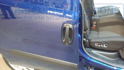 New Model Vauxhall Combo Crew Cab 2014 Offside - New Model Fords and Vauxhall Van Pictures from CV 2014 - Online Shop & Worldwide Delivery - Sussex - London & The South East