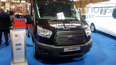 New Ford Transit 2014 Front - New Model Fords and Vauxhall Van Pictures from CV 2014 - Online Shop & Worldwide Delivery - Sussex - London & The South East