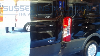 New Ford Transit 2014 Near Back - New Model Fords and Vauxhall Van Pictures from CV 2014 - Online Shop & Worldwide Delivery - Sussex - London & The South East