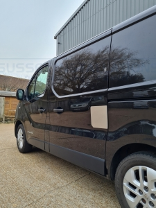 Vauxhall Vivaro - Side load door repair shield - Sussex Installations VAU5-NSL-EXT-001    - Online Shop & Worldwide Delivery - Sussex - London & The South East