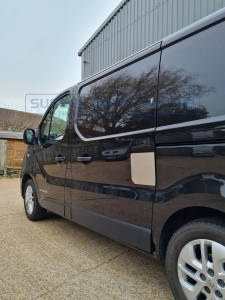 Renault Trafic - Side load door repair shield - Sussex Installations REN5-NSL-EXT-001    - Online Shop & Worldwide Delivery - Sussex - London & The South East