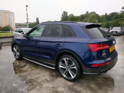 2020 Audi SQ5 Vodafone S5 Tracking System With ADR Tags - Vodafone Automotive (Cobra) Protect And Connect S5 - MANCHESTER - GREATER MANCHESTER