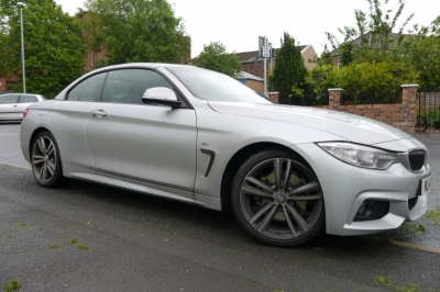 BMW - 4 Series - 4 series - (F32/33/36/82/83 2014On) (03/2014) - 2014 BMW 4 Series M Sport Front Witness Camera Recording - MANCHESTER - GREATER MANCHESTER
