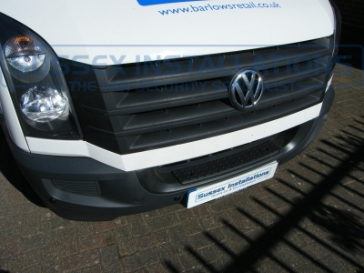 VW Crafter 2014 Steelmate Front and Rear Parking Sensors - Online Shop & Worldwide Delivery - Sussex - London & The South East