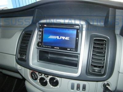 Vauxhall Vivaro 2014 Security & Sat Nav  - Alpine INE-W925R - Online Shop & Worldwide Delivery - Sussex - London & The South East