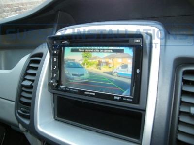 Vauxhall - Vivaro - Vivaro (2011 - 2014) (null/nul) - Alpine INE-W925R - Online Shop & Worldwide Delivery - Sussex - London & The South East