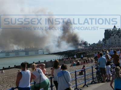 Eastbourne Pier Fire 30.07.2014 - 131 Devastating Images - Online Shop & Worldwide Delivery - Sussex - London & The South East