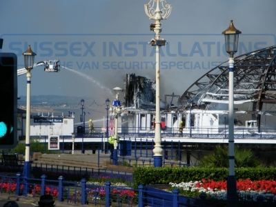 Eastbourne Pier Fire - Eastbourne Pier Fire 30.07.2014 - 131 Devastating Images - Online Shop & Worldwide Delivery - Sussex - London & The South East