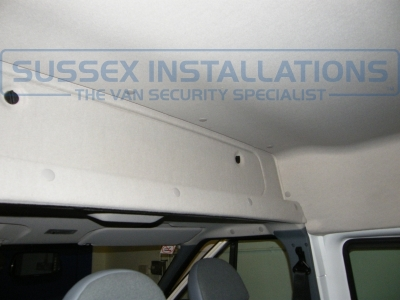 Overhead compartment (closed) - Ford Transit Crew Cab 2013 - Online Shop & Worldwide Delivery - Sussex - London & The South East