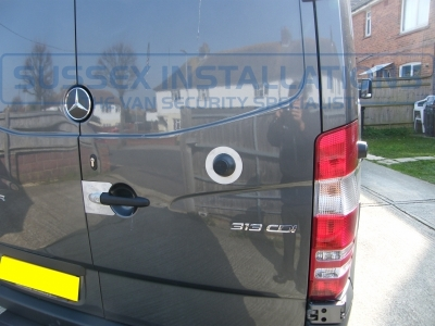 Mercedes - Sprinter - Sprinter (2006 - 2013) W906 - Sussex Installations MER1-RB-SHIELD2 - Online Shop & Worldwide Delivery - Sussex - London & The South East