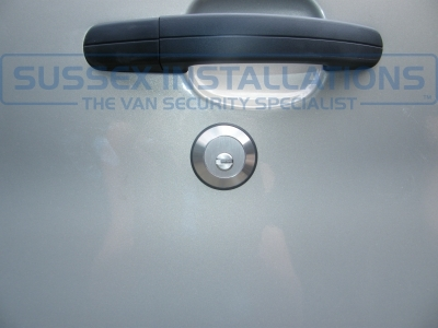 Ford - Transit - Transit MK8 (2014 - On) (null/201) - Ford Transit 2015 - Load Area Slamlock Installation - Online Shop & Worldwide Delivery - Sussex - London & The South East
