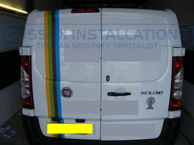 Fiat Scudo 2010 -  Barn Deadlock and Side Load Slamlocks - Locks 4 Vans T SERIES VAN SLAMLOCKS - Online Shop & Worldwide Delivery - Sussex - London & The South East