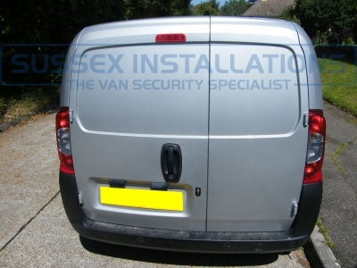 Citroen Nemo 2011 - Cab and Load Deadlocks and Pro Plates - Sussex Installations T SERIES VAN DEADLOCKS GENERAL - Online Shop & Worldwide Delivery - Sussex - London & The South East