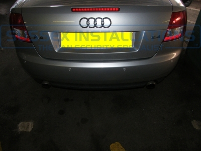 Audi - A4 - A4 - (B8, 2008 - On) (05/2009) - Audi A4 2009 Rear Parking Sensors in Silver - Online Shop & Worldwide Delivery - Sussex - London & The South East