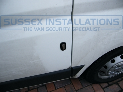 There are actually of an installation to a Citroen Relay Van, but they are the same on the Peugeot Boxer. - Peugeot - Boxer - Boxer - (2006 - 2011) - Deadlocks - Online Shop & Worldwide Delivery - Sussex - London & The South East