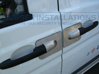 Mercedes - Vito / Viano - Vito/Viano (2004 - 2015) W639 - Armaplate SENTINEL VAN HANDLE GUARDS - Online Shop & Worldwide Delivery - Sussex - London & The South East