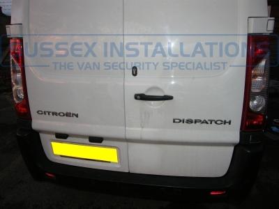 Citroen Dispatch 2009 Rear Barn Door Deadlock - Locks 4 Vans T SERIES VAN DEADLOCKS GENERAL - Online Shop & Worldwide Delivery - Sussex - London & The South East