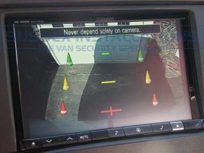 "The reversing camera display is automatically switched on when the vehicle is put into reverse. - Mercedes - Sprinter - Sprinter (2006 - 2013) W906 (null/201) - Mercedes Sprinter 8"" Screen Sat Nav and Reversing Camera - Online Shop & Worldwide Delivery - Sussex - London & The South East"