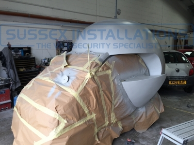 The Sussex Installations Globe Car Making Album - #GlobeCar - Online Shop & Worldwide Delivery - Sussex - London & The South East