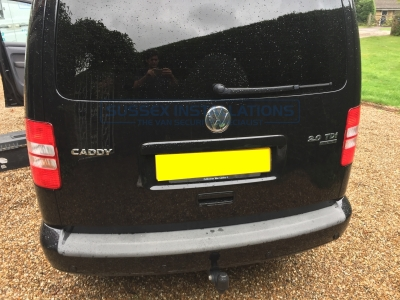 VW - Caddy Van - Caddy (2010 - 2015) 2k Facelift 1  (11/2012) - VW Caddy 2012 - Witness Camera & Parrot CK3100 Installation - Online Shop & Worldwide Delivery - Sussex - London & The South East