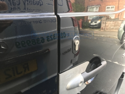 Mercedes - Sprinter - Sprinter (2014 - 2018) W906 Facelift - Handle Protection - Online Shop & Worldwide Delivery - Sussex - London & The South East