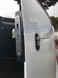 Ford Custom 2015 Load Area Deadlocks - Sussex Installations T SERIES DEADLOCKS - FORD CUSTOM - Online Shop & Worldwide Delivery - Sussex - London & The South East