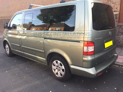 VW Caravelle T5 - T Series Deadlocks all around - Tailgate - Sussex Installations T SERIES DEADLOCKS - VW T5 & T6 - Online Shop & Worldwide Delivery - Sussex - London & The South East
