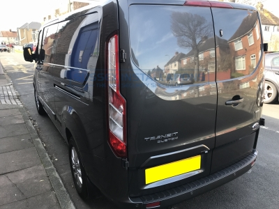 Ford Transit Custom 2018 - Gold Package Security Install - Sussex Installations FOR3-GP-1S-RB-D-V2 - Online Shop & Worldwide Delivery - Sussex - London & The South East